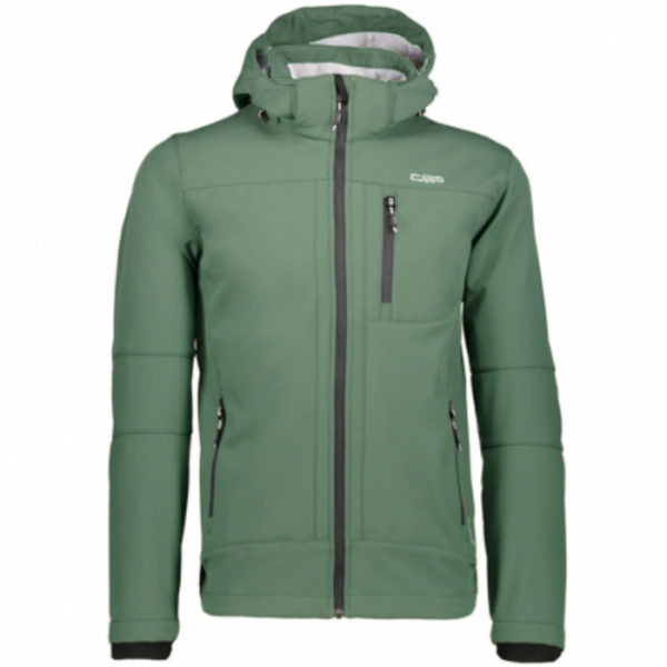 Cmp Giacca Softshell Verde - Desal Safety